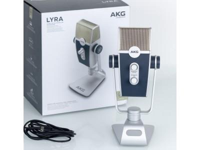 AKG Lyra - USB микрофон с 4 капсюлями