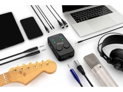 IK Multimedia iRig Pro Duo IO – аудиоинтерфейс в кармане