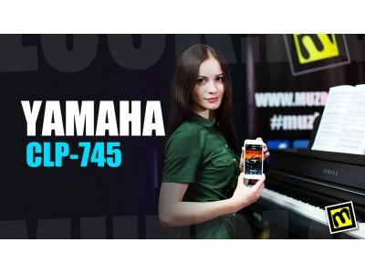 Yamaha CLP-745 - видео обзор цифрового фортепиано