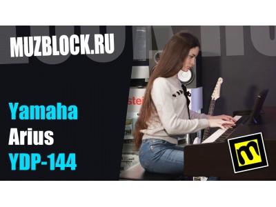 Yamaha YDP-144 - обзор цифрового фортепиано с видео и примерами звучания