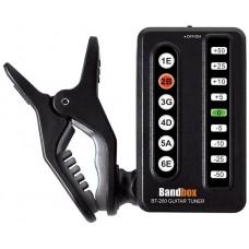 BANDBOX BT-200 - тюнер гитарный, прищепка