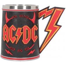 AC/DC Tankard Сувенирная кружка AC DC, лицензионная сувенирная продукция