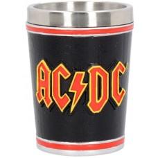 ACDC Shot Glass Сувенирная рюмка ACDC, лицензионная сувенирная продукция