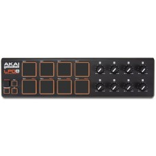 AKAI PRO LPD8 портативный USB MIDI-контроллер
