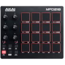 AKAI PRO MPD218 - компактный USB/MIDI-контроллер