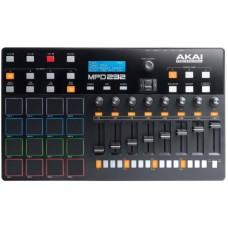 AKAI PRO MPD232 - MIDI/USB-контроллер, 16 пэдов, 8 фейдеров, 8 ручек