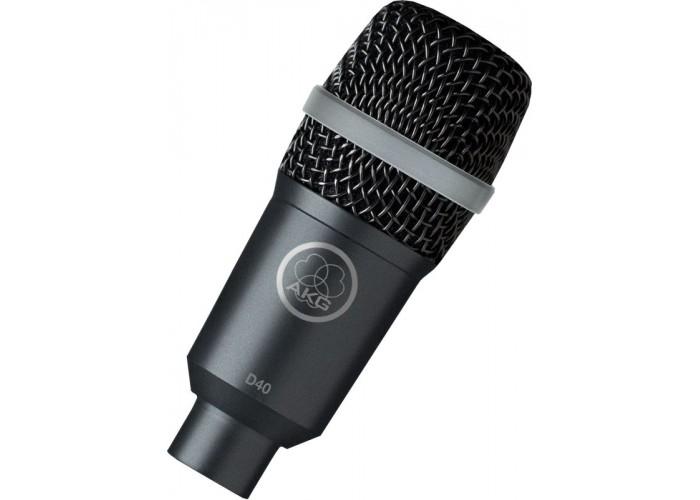 AKG D40 микрофон динамический инструментальный