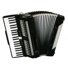J.MEISTER JM3472 / BK 3/4 - аккордеон, 34 клавиши, 72 басов