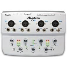ALESIS IO|4 Портативный 4-канальный USB аудио интерфейс