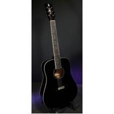 ALICANTE TITANIUM BK - акустическая гитара с широким грифом 48мм