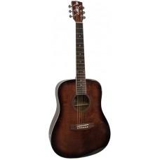 ALICANTE TITANIUM BR EA - электроакустическая гитара с широким грифом 48мм