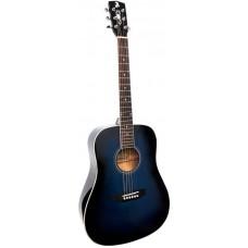 ALICANTE TITANIUM MBL - акустическая гитара с широким грифом 48мм
