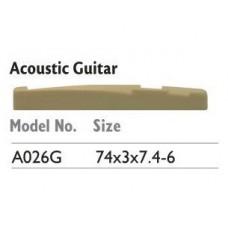 ALICE A026G Порожек НИЖНИЙ для АКУСТИЧЕСКОЙ гитары