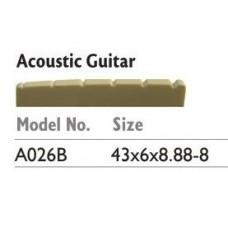 ALICE A026B Порожек ВЕРХНИЙ для АКУСТИЧЕСКОЙ гитары