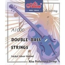 ALICE A1000 - Комплект струн для контрабаса