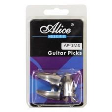 ALICE AP-3MS Упаковка стальных медиаторов на палец (когти) 3шт