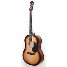 Амистар M-20 SB Акустическая гитара, матовая
