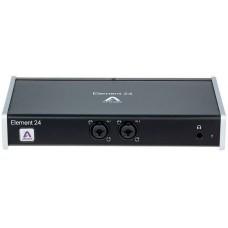 APOGEE ELEMENT 24 многоканальный аудио интерфейс для Mac, 2 входа/4 выхода.