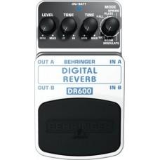BEHRINGER DR600 DIGITAL REVERB - Педаль цифровых стереофонических эффектов реверберации