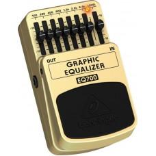 BEHRINGER EQ700 - педаль 7-полосный графический эквалайзер