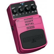 BEHRINGER HM300 - педаль эффектов хэви метал-дисторшн