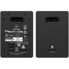 BEHRINGER MEDIA 40USB 2-полосная мониторная система (пара мониторов), 40 Вт, USB