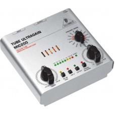 BEHRINGER MIC200 - ламповый микрофонно-линейный предусилитель