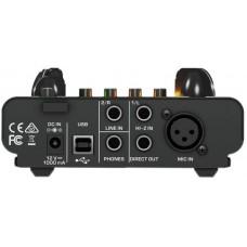 BEHRINGER MIC500USB USB-аудиоинтерфейс с ламповым предусилителем