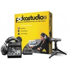 Behringer PODCASTUDIO USB - аудиоинтерфейс студийного класса