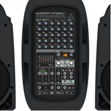Behringer PPA2000BT - 8-канальная портативная система звукоусиления, 2х1000Вт 4Ом, 2х500Вт 8Ом, DSP