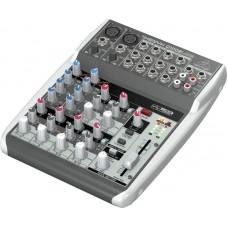 Behringer Q1002USB - микшер10 каналов, эквалайзер, микр.предусил, USB