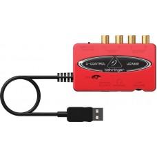 BEHRINGER UCA222 - внешний интерфейс USB