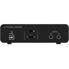 BEHRINGER UMC22 внешний интерфейс USB