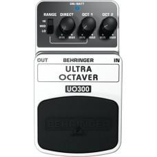 Behringer UO300- педаль эффектов (октавер) для гитар и бас-гитар, 3-х режимный