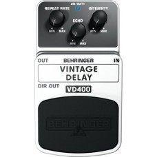 Behringer VD400 - Педаль аналоговых эффектов задержки (дилей), стиль