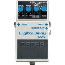 BOSS DD-3 Digital Delay педаль для электрогитары