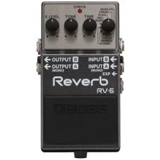 BOSS RV-6 reverb - гитарная педаль эффекта ревер