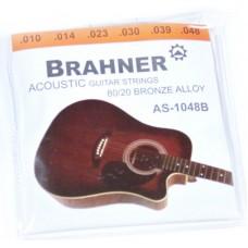 BRAHNER AS-1048B - струны для акустических гитар