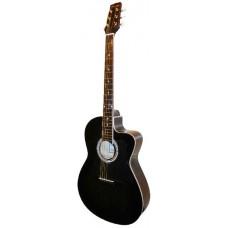 Caraya C901T BK Акустическая гитара, с вырезом, черная