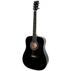 Caraya F600 BK Акустическая гитара, черная