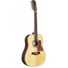 Caraya F64012-N Акустическая 12-струнная гитара, цвет натуральный