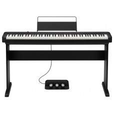 CASIO CDP-S150 BK + CASIO CS-46P + CASIO SP-34 - комплект, цифровое пианино с подставкой и педалями