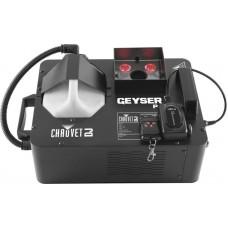 CHAUVET-DJ Geyser P6 генератор вертикального/горизонтального дыма с RGBA+UV подсветкой струи