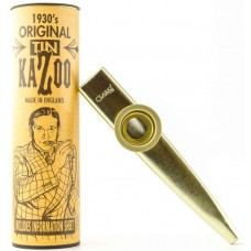 CLARKE Gold Colour Metal Kazoo - казу KAZOO