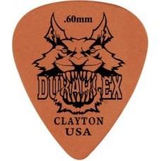 CLAYTON DXS60/12 - набор медиаторов - 0.60 mm DELRIN стандартные (12 шт.)