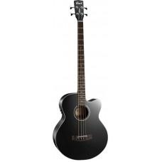 CORT AB850F BK with BAG Acoustic Bass Series Электроакустическая бас-гитара, с вырезом, черная
