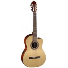 CORT AC120CE OP Classic Series - классическая гитара со звукоснимателем, с вырезом