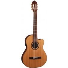 Cort AC160C FTL NAT Classic Series Классическая гитара со звукоснимателем, с вырезом