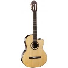 CORT AC160CF WITH BAG NAT - класcическая гитара с подключением