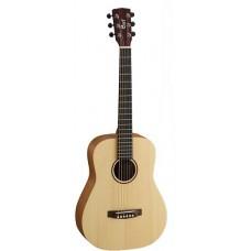 Cort EARTH MINI OP Earth Series Акустическая гитара 3/4, цвет натуральный, с чехлом